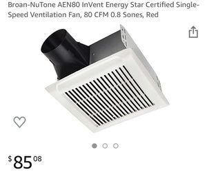 Ventilation Fan by NuTone AEN80 *NIB* NEW Remodel Bathroom for Sale in Payson, AZ