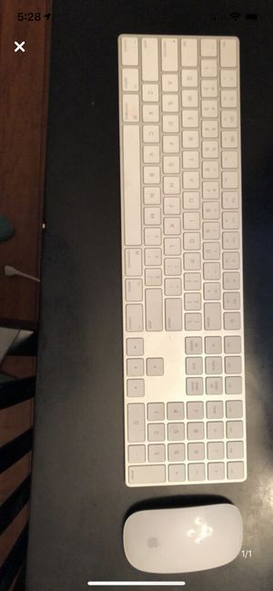 Wireless Apple Numeric Keyboard and Magic Mouse for Sale in Lakewood Ranch, FL