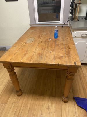 Farmhouse style dining room table for Sale in Fairmont, WV