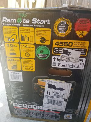 Brand new Firman remote start generator for Sale in Long Beach, CA
