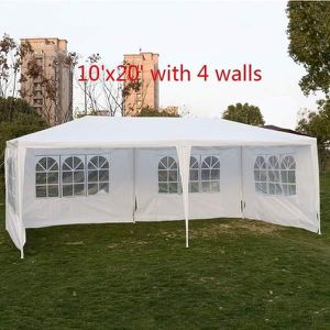 BRAND NEW 10'x20' WITH 4 WALLS OUTDOOR CANOPY, WEDDING TENT, HEAVY DUTY GAZEBO for Sale in Los Angeles, CA