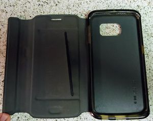 Galaxy S6 Edge Tech 21 Wallet Case - Black for Sale in Arvada, CO