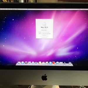 Apple iMac 21.5 2.4 GHz Intel Core 2 Duo 4GB Memory. Includes Keyboard And Mouse for Sale in Waxahachie, TX
