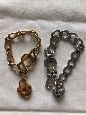 Juicy Couture charm bracelets for Sale in Salinas, CA