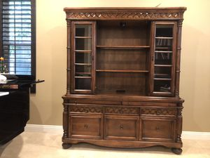 Luxury wood book shelves for Sale in San Diego, CA