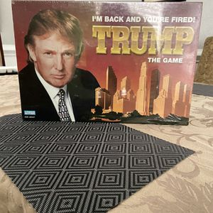 Trump Monopoly Board Game, New Unopened for Sale in Tallahassee, FL