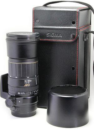 Sigma 135-400mm AF APO Lens for Canon EF for Sale in Pembroke Pines, FL