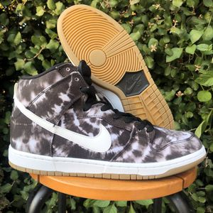 Nike Dunk High Hi Premium SB TIE DYE Black White for Sale in San Diego, CA