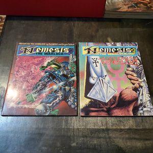 Nemesis The Warlock Book 5 1987 And Book 6 1988, First Print Titan Books Lot, Rare. 2000 AD Judge Dredd for Sale in Fresno, CA