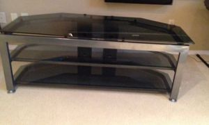 "Premium tv stand w 65"" Mitsubishi HD 1080p rear projection DLP for Sale in Des Plaines, IL"