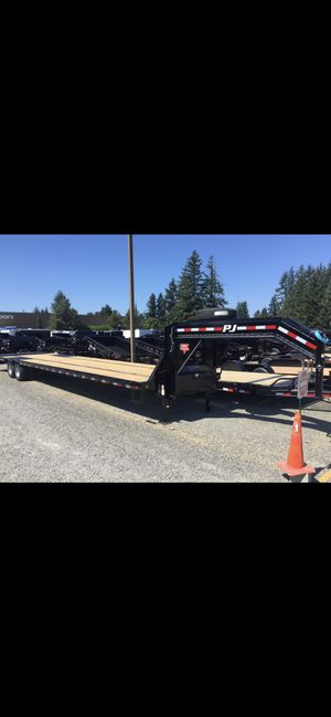 2019 40' dually tandem axle PJ with monster ramps for Sale in Puyallup, WA