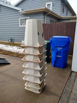 9 - Used Rose Cones Heavy Duty (Thick) for Sale in Appleton, WI