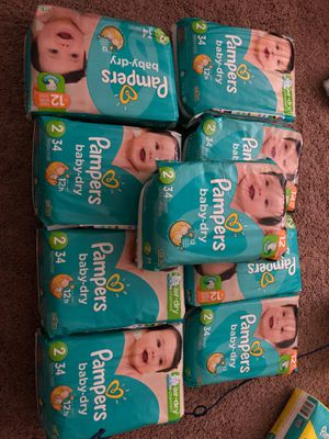 Pamper baby dry $5 each for Sale in Richardson, TX