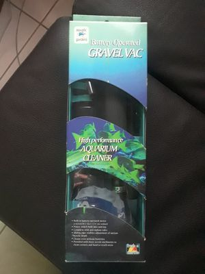 Battery operated gravel vacuum for Sale in Miami, FL