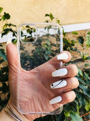 Brand new cool iphone 11 REGULAR case cover rubber Clear transparent see through mens women's guys girls for Sale in San Bernardino, CA