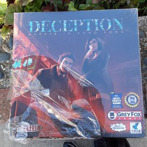 DECEPTION MURDER IN HONG KONG BOARD GAME for Sale in Oakland, CA