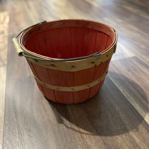 Red Basket with Handle for Sale in Irvine, CA