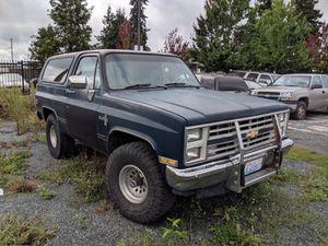 1989 Chevy Blazer for Sale in Everett, WA