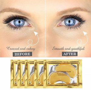 Crystal gold Collagen Under Eye patches Mask Dark Circles Wrinkles for Sale in Los Angeles, CA