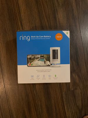 Ring Stick up Cam Battery for Sale in New Square, NY