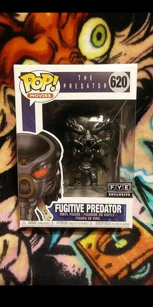 Funko Pop Fugitive Predator (Gunmetal) FYE Exclusive #620 for Sale in Cypress, CA