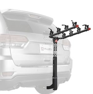 Allen Sports Deluxe 4-Bicycle Hitch Mounted Bike Rack Carrier, 542RR for Sale in Las Vegas, NV