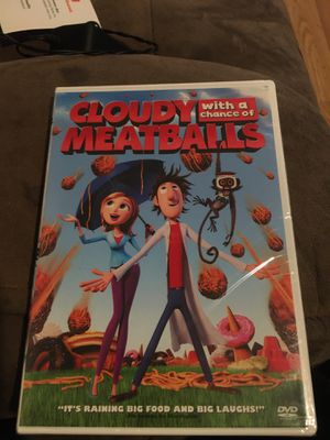 Cloudy with a Chance of Meatballs DVD brand new for Sale in Santa Fe Springs, CA