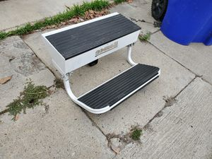 Lance folding steps w/ hitch extender for Sale in San Diego, CA