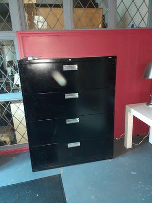 Large 4 drawer file cabinet. for Sale in Detroit, MI