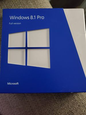 Windows 8.1 Pro Full Version for Sale in Oregon City, OR