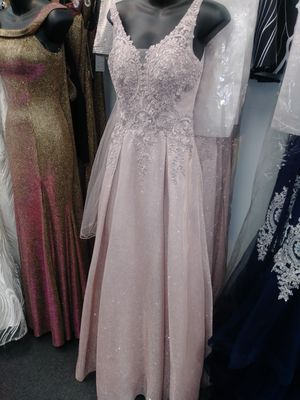 Pale Pink Prom/Formal Floor Lentgh Dress for Sale in Fort Washington, MD