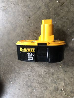 DeWault Battery 18v for Sale in Evansville, IN