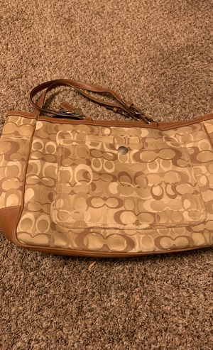 Coach diaper bag can use as a purse for Sale in Fresno, CA