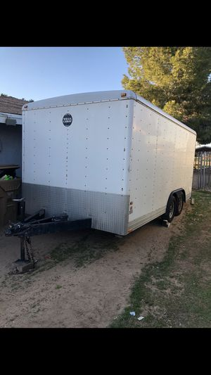 2007 wells cargo enclosed trailer for Sale in Hesperia, CA