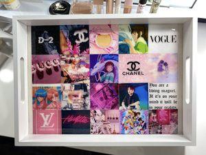 ✨BTS glitter resin decor tray ✨ for Sale in Las Vegas, NV