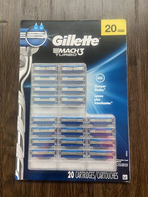 New Gillette Mach3 Men's Razor Blade Refills ( 20 ) for Sale in Fountain Valley, CA