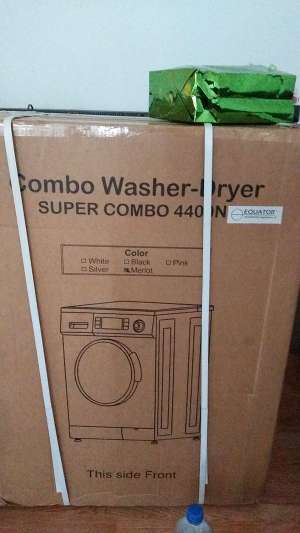 Brand new in box equator combo washer and dryer super combo New in box
