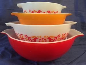 Pyrex friendship bowls for Sale in Campbell, CA