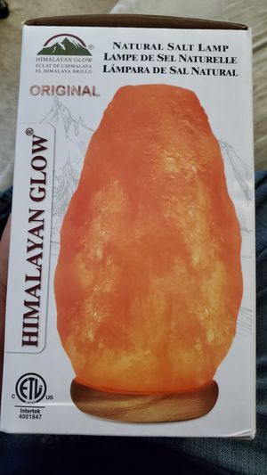 Himalayan glow salt lamp with dimmer for Sale in Gilbert, AZ