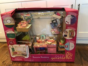 "Our Generation Awesome Academy school set 18"" American girl doll for Sale in Nashville, TN"