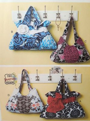 Pattern UNCUT purse bag tote flower ribbon bow for Sale in Southaven, MS