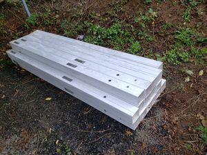 Vinyl fence post for 6ft panel from Home Depot for Sale in Elma, WA