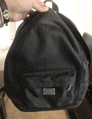 Michael Kors black backpack for Sale in Las Vegas, NV