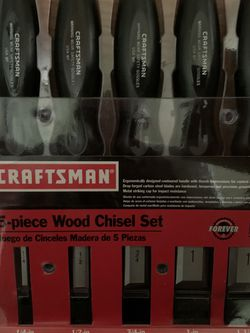 Craftsman Wood Chisels for Sale in Oregon City,  OR