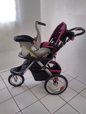 Stroller and matching car seat for Sale in San Bernardino, CA