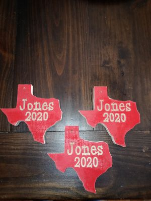 Personalized Texas ornaments for Sale in Arcadia, TX