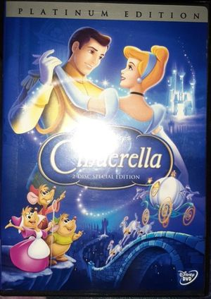 Sealed Cinderella Platinum Edition Dvd for Sale in Arlington, TX