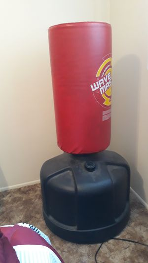 Wavemaster kick and punch bag for Sale in Downey, CA