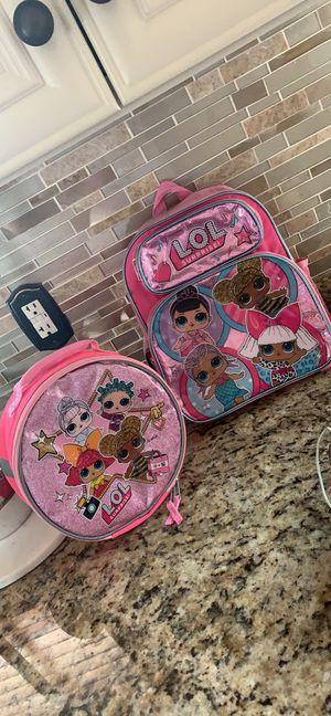 Lol doll preschool bags set for Sale in Dearborn Heights, MI