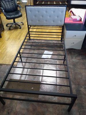 Twin size platform bed frame for Sale in Glendale, AZ